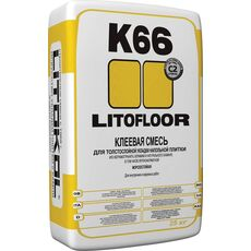 кл  LitoFLOOR K66  25 кг клей