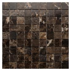 Каменная мозаика Emperador Dark pol. 30x30х7