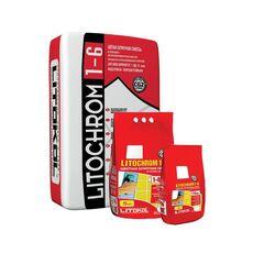 затирка LitoCHROM 1-6 C/10 5 кг серая