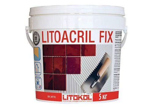 LitoACRIL Fix пастообразный клей (5 кг)